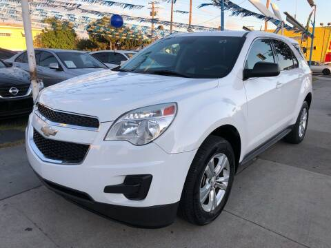 2013 Chevrolet Equinox for sale at Plaza Auto Sales in Los Angeles CA