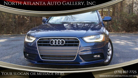 2013 Audi A4 for sale at North Atlanta Auto Gallery, Inc in Alpharetta GA