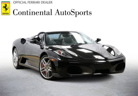 2008 Ferrari F430 Spider for sale at CONTINENTAL AUTO SPORTS in Hinsdale IL