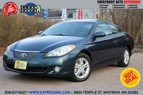 2006 Toyota Camry Solara for sale at Auto Sales Express in Whitman MA