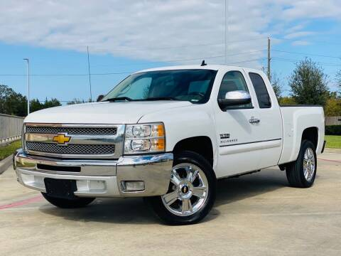 2012 Chevrolet Silverado 1500 for sale at AUTO DIRECT in Houston TX