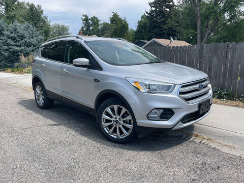 2017 Ford Escape for sale at Ace Auto Sales in Boise ID