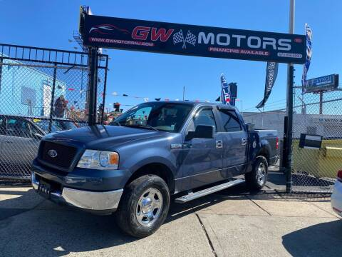 2005 Ford F-150 for sale at GW MOTORS in Newark NJ