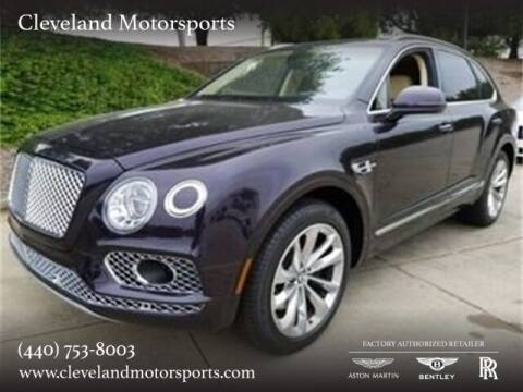 2017 Bentley Bentayga for sale at Drive Options in North Olmsted OH