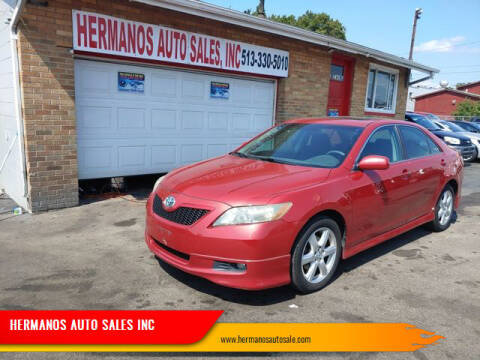 2008 Toyota Camry for sale at HERMANOS AUTO SALES INC in Hamilton OH