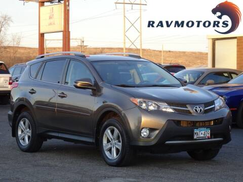2013 Toyota RAV4 for sale at RAVMOTORS in Burnsville MN