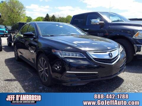 2015 Acura TLX for sale at Jeff D'Ambrosio Auto Group in Downingtown PA
