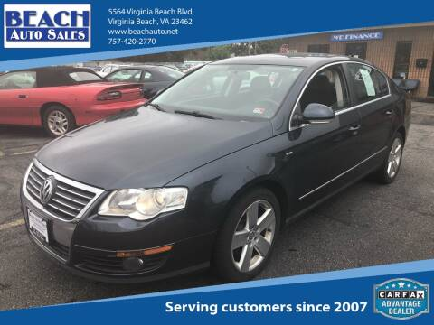 2007 Volkswagen Passat for sale at Beach Auto Sales in Virginia Beach VA