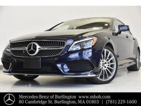 2017 Mercedes-Benz CLS for sale at Mercedes Benz of Burlington in Burlington MA