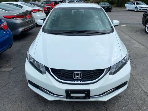 2015 Honda Civic for sale at J Franklin Auto Sales in Macon GA