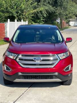 2017 Ford Edge for sale at Suburban Auto Sales LLC in Madison Heights MI