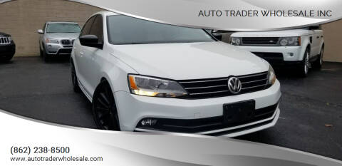 2016 Volkswagen Jetta for sale at Auto Trader Wholesale Inc in Saddle Brook NJ