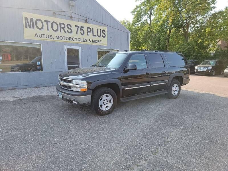 2005 Chevrolet Suburban for sale at Motors 75 Plus in Saint Cloud MN