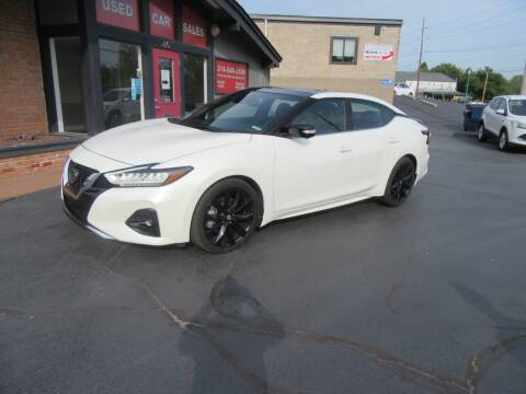 2019 Nissan Maxima for sale at Riverside Motor Company in Fenton MO