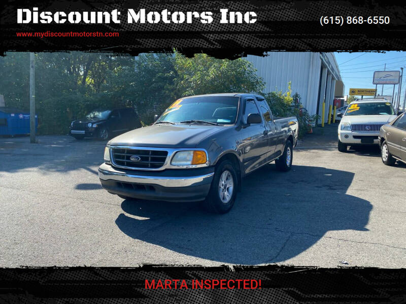 2004 Ford F-150 Heritage for sale at Discount Motors Inc in Madison TN