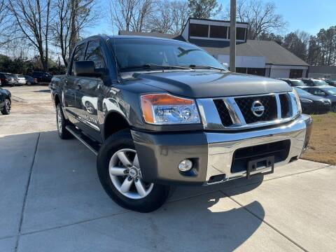 2012 Nissan Titan for sale at Alpha Car Land LLC in Snellville GA