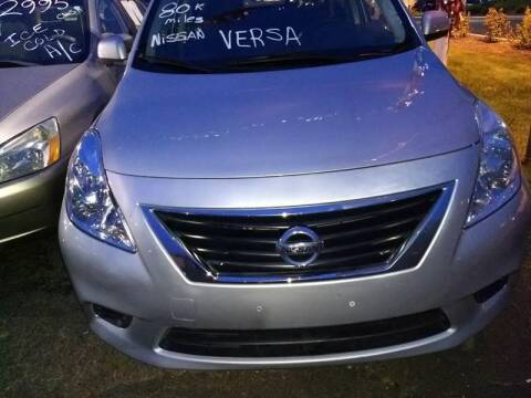 2014 Nissan Versa for sale at Premium Motors in Rahway NJ