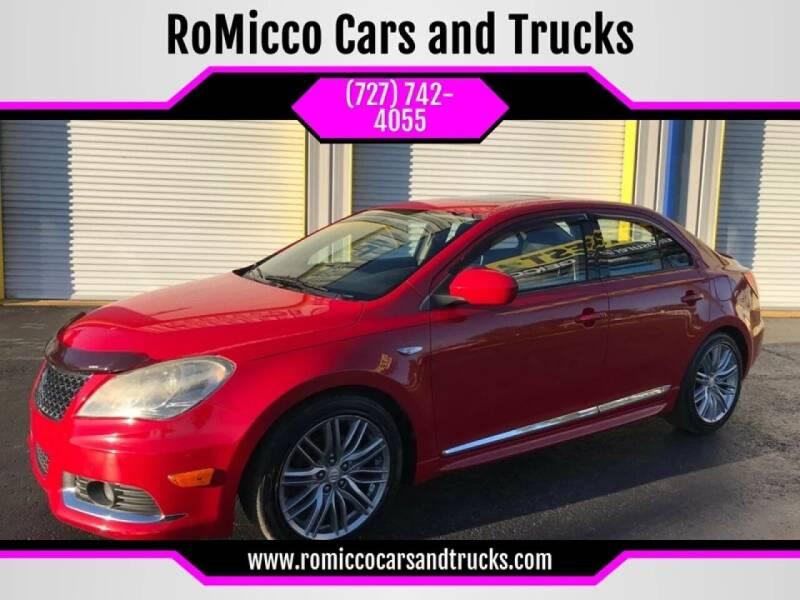 2011 Suzuki Kizashi for sale at RoMicco Cars and Trucks in Tampa FL