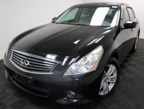2011 Infiniti G25 Sedan for sale at CarNova in Stafford VA