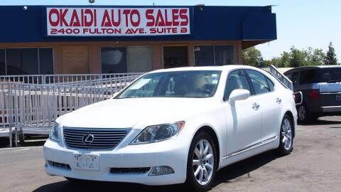 2007 Lexus LS 460 for sale at Okaidi Auto Sales in Sacramento CA