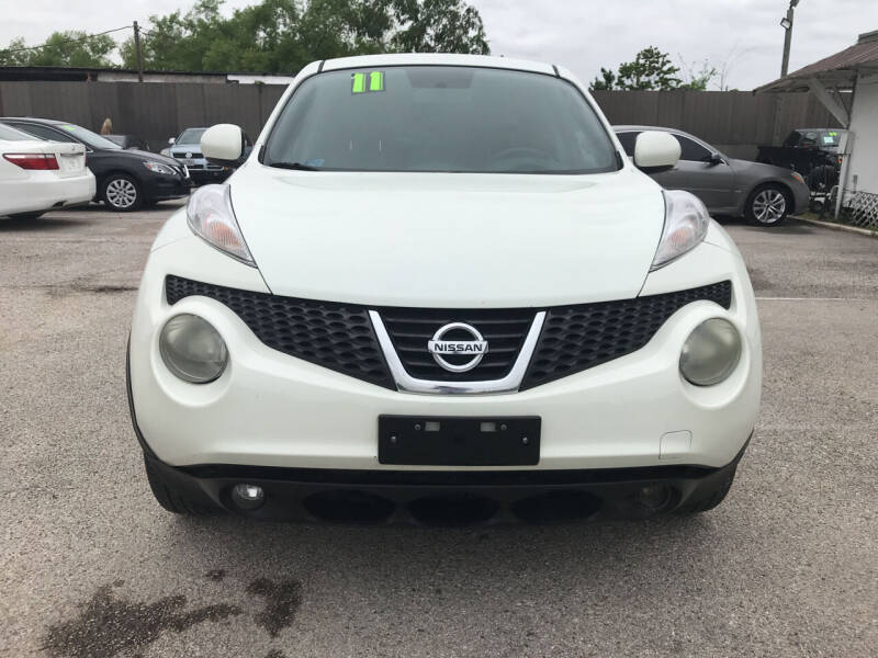2011 Nissan JUKE for sale at SOUTHWAY MOTORS in Houston TX