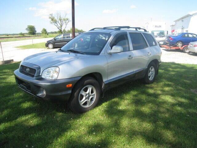 2002 Hyundai Santa Fe for sale at BEST CAR MARKET INC in Mc Lean IL