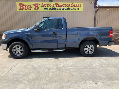 2006 Ford F-150 for sale at BIG 'S' AUTO & TRACTOR SALES in Blanchard OK