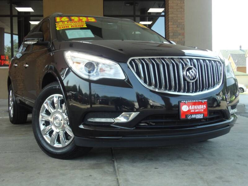 2015 Buick Enclave for sale at Arandas Auto Sales in Milwaukee WI