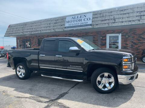 2014 Chevrolet Silverado 1500 for sale at Allen Motor Company in Eldon MO