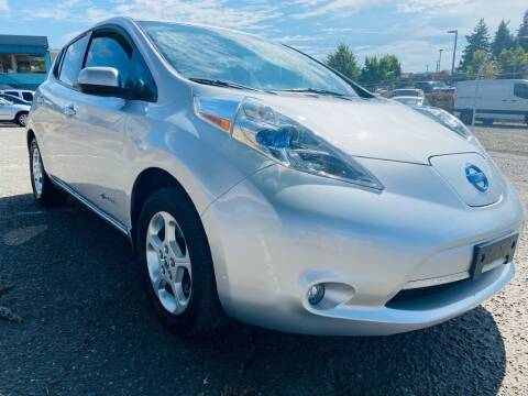 2015 Nissan LEAF for sale at House of Hybrids in Burien WA