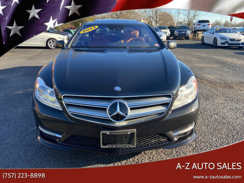 2013 Mercedes-Benz CL-Class for sale at A-Z Auto Sales in Newport News VA
