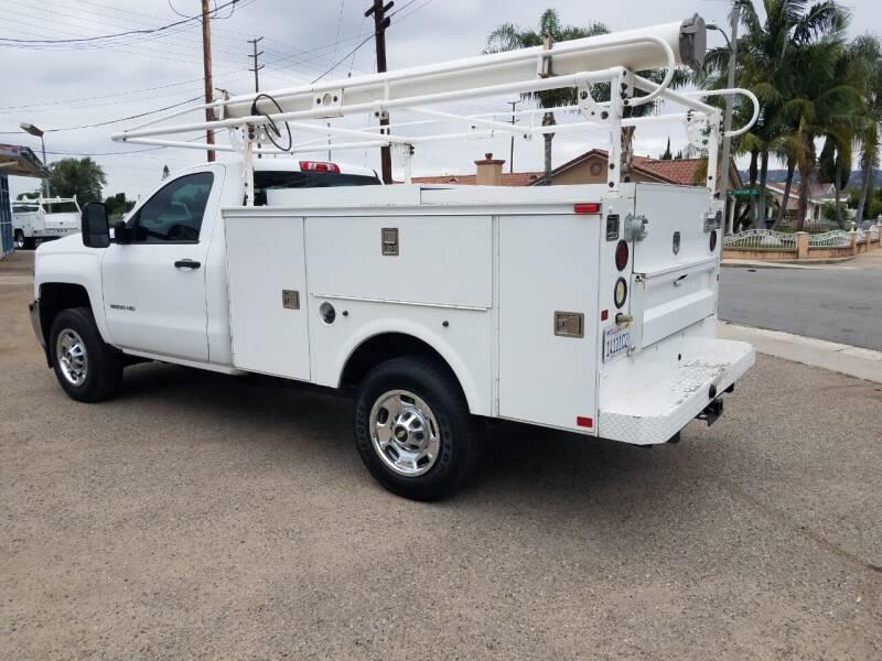 2015 Chevrolet Silverado 2500HD 4X2 Work Truck 2dr Regular Cab - La  Habra CA