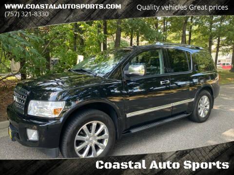 2010 Infiniti QX56 for sale at Coastal Auto Sports in Chesapeake VA