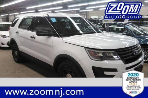 2016 Ford Explorer for sale at Zoom Auto Group in Parsippany NJ