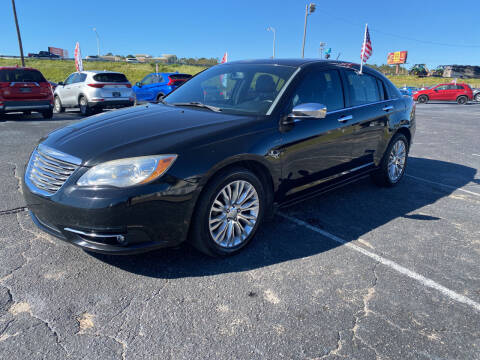 2012 Chrysler 200 for sale at Sun Coast City Auto Sales in Mobile AL