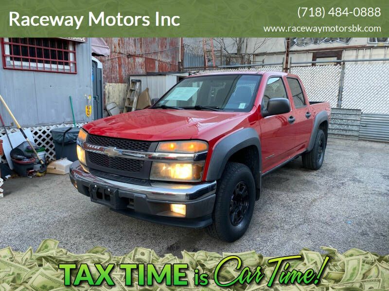 2005 Chevrolet Colorado for sale at Raceway Motors Inc in Brooklyn NY