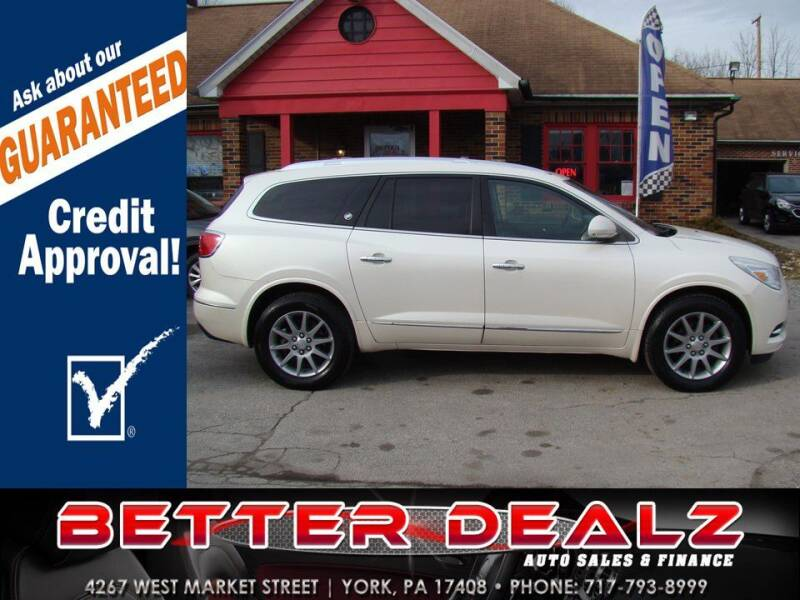 2014 Buick Enclave for sale at Better Dealz Auto Sales & Finance in York PA