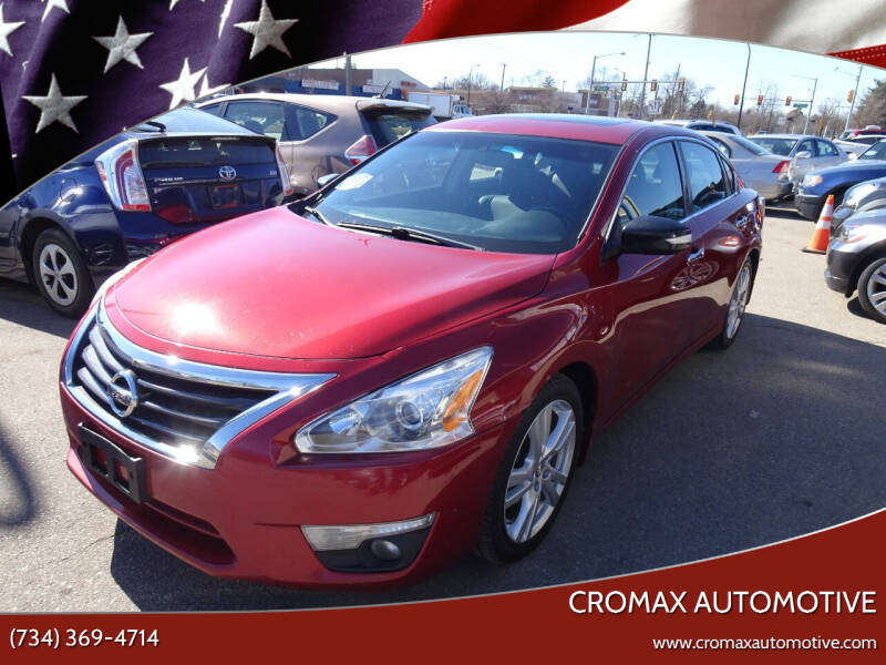 2013 Nissan Altima for sale at Cromax Automotive in Ann Arbor MI
