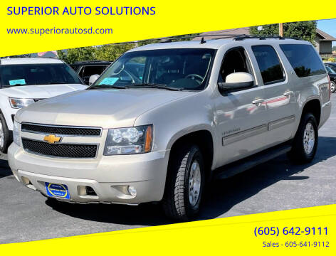 2012 Chevrolet Suburban for sale at SUPERIOR AUTO SOLUTIONS in Spearfish SD