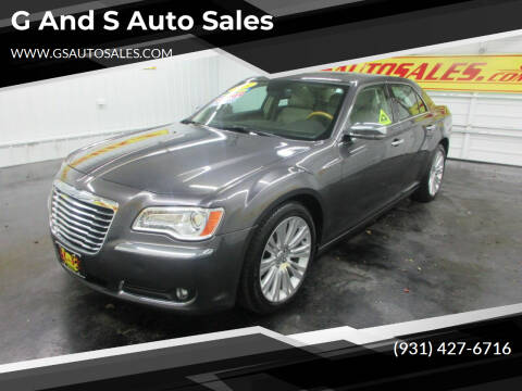 2014 Chrysler 300 for sale at G and S Auto Sales in Ardmore TN