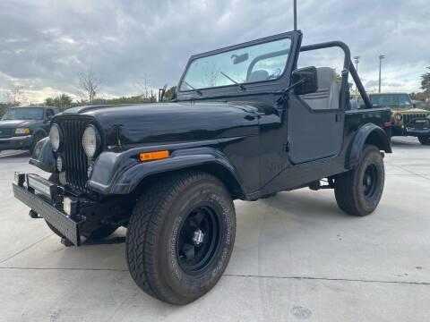 1980 Jeep CJ-5 for sale at American Classics Autotrader LLC in Pompano Beach FL