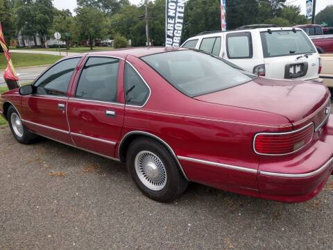 1996 Chevrolet Caprice for sale at Delgato Auto in Pittsboro NC