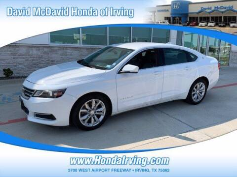 2016 Chevrolet Impala for sale at DAVID McDAVID HONDA OF IRVING in Irving TX