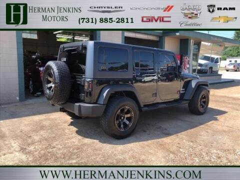 2012 Jeep Wrangler Unlimited for sale at Herman Jenkins Used Cars in Union City TN