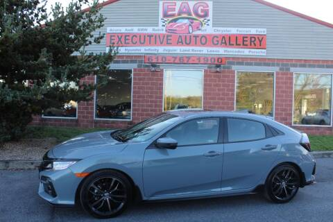 2021 Honda Civic for sale at EXECUTIVE AUTO GALLERY INC in Walnutport PA