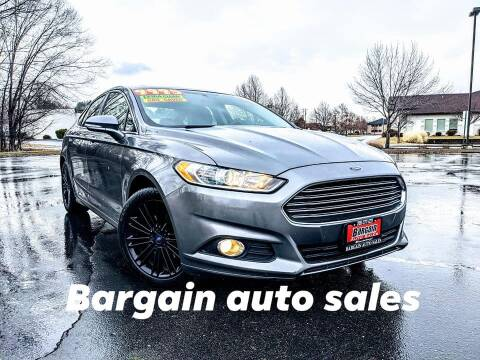2013 Ford Fusion for sale at Bargain Auto Sales in Garden City ID