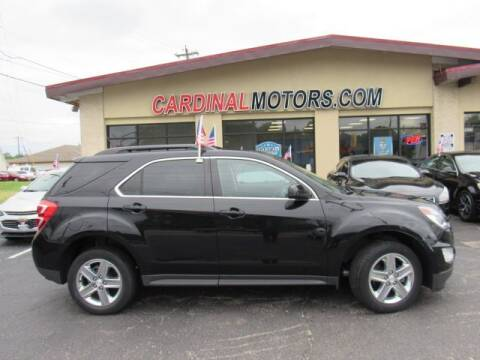 2016 Chevrolet Equinox for sale at Cardinal Motors in Fairfield OH