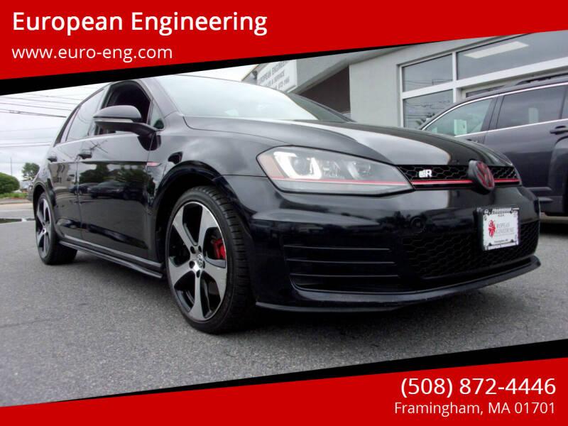 2015 Volkswagen Golf GTI for sale at European Engineering in Framingham MA