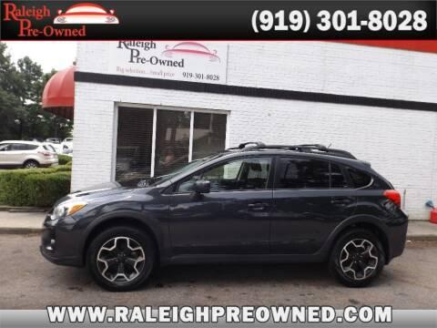 2015 Subaru XV Crosstrek for sale at Raleigh Pre-Owned in Raleigh NC
