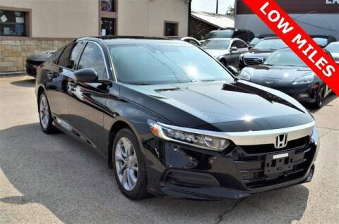 2018 Honda Accord for sale at LAKESIDE MOTORS, INC. in Sachse TX